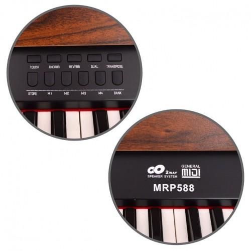 Dijital Piyano Manuel Raymond Ceviz MRP588WN - Thumbnail