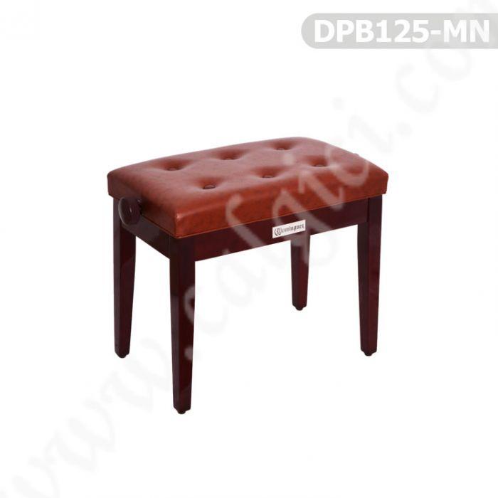 Piyano Aksesuar Koltuk Tabure Dominguez Ayarlı Maun DPB125-MN
