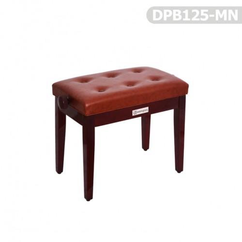 Piyano Aksesuar Koltuk Tabure Dominguez Ayarlı Maun DPB125-MN - Thumbnail