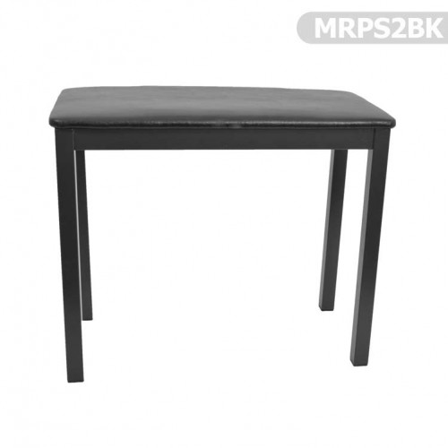 Piyano Koltuğu Manuel Raymond Siyah Koltuk Tabure MRPS2BK - Thumbnail