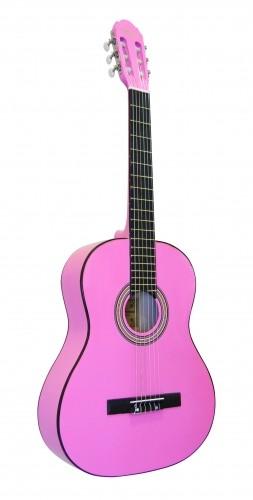 Gitar Klasik Manuel Raymond Pembe MRC375PNK - Thumbnail