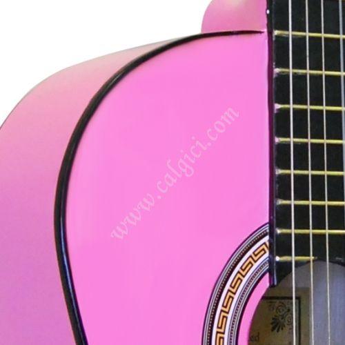 Gitar Klasik Manuel Raymond Pembe MRC375PNK